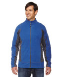 88198 North End Men's Generate Textured Fleece Jacket