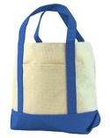 8867 Liberty Bags Seaside Cotton Canvas Tote