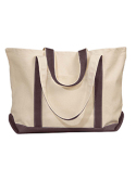 8872 Liberty Bags Carmel Classic XL Cotton Canvas Boat Tote