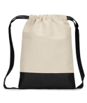 8876 Liberty Bags Cape Cod Cotton Drawstring Backpack