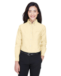 8990 UltraClub Ladies' Classic Wrinkle-Resistant Long-Sleeve Oxford