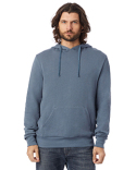 9595CT Alternative Unisex 6.5 oz., Challenger Washed French Terry Hooded Pullover Sweatshirt