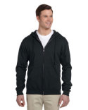 993 Jerzees Adult 8 oz. NuBlend® Fleece Full-Zip Hood