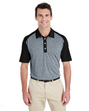 A145 adidas Golf Men's Heather Block Polo