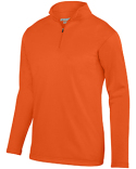 AG5507 Augusta Sportswear Adult Wicking Fleece Quarter-Zip Pullover