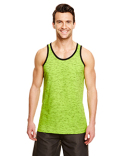 B9102 Burnside Adult Injected Slub Tank Top