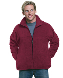 BA1130 Bayside Unisex Full-Zip Polar Fleece Jacket