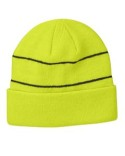BA535 Big Accessories Reflective Beanie