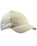 BA601 Big Accessories Washed Trucker Cap