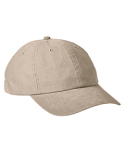 BA610 Big Accessories Heavy Washed Canvas Cap