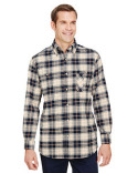 BP7001T Backpacker Men's Tall Yarn-Dyed Flannel Shirt