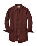 BP7035 Backpacker Ladies' Nailshead Long-Sleeve Woven Shirt