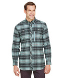 BP7091T Backpacker Men's Tall Stretch Flannel Shirt