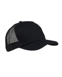 BX010 Big Accessories 5-Panel Twill Trucker Cap