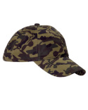 BX018 Big Accessories Unstructured Camo Cap