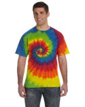 CD100 Tie-Dye Adult 5.4 oz., 100% Cotton T-Shirt