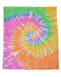 CD6100 Tie-Dye Throw Blanket