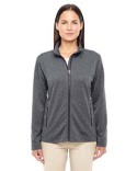 D885W Devon & Jones Ladies' Fairfield Herringbone Full-Zip Jacket
