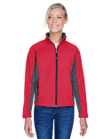 D997W Devon & Jones Ladies' Soft Shell Colorblock Jacket