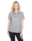 DG22W Devon & Jones CrownLux Performance™ Ladies' Address Melange Polo