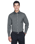 DG530T Devon & Jones Men's Tall Crown Woven Collection™ Solid Stretch Twill