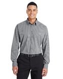 DG535 Devon & Jones Men's CrownLux Performance™ Tonal Mini Check Shirt