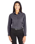 DG535W Devon & Jones Ladies' CrownLux Performance™ Tonal Mini Check Shirt
