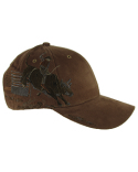 DI3262 Dri Duck Brushed Cotton Twill Bull Rider Cap