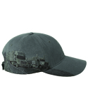DI3350 Dri Duck Brushed Cotton Twill Trucking Cap