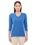 DP184W Devon & Jones Ladies' Perfect Fit™ Bracelet-Length V-Neck Top