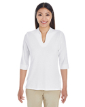 DP188W Devon & Jones Ladies' Perfect Fit™ Tailored Open Neckline Top