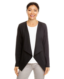 DP465W Devon & Jones Ladies' Perfect Fit™ Draped Open Blazer