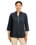 DP611W Devon & Jones Ladies' Perfect Fit™  3/4-Sleeve Crepe Tunic