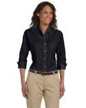 DP625W Devon & Jones Ladies' Perfect Fit™ 3/4-Sleeve Stretch Poplin Blouse