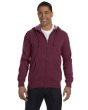 EC5680 econscious Men's 7 oz. Organic/Recycled Heathered Full-Zip Hood