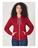 F497 American Apparel Unisex Flex Fleece Zip Hoodie