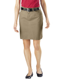 FK201 Dickies Ladies' Stretch Twill Skirt