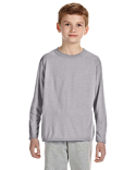 G424B Gildan Youth Performance® Youth 5 oz. Long-Sleeve T-Shirt