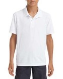 G458B Gildan Performance® Youth 5.6 oz. Double Pique Polo