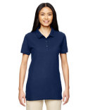 G828L Gildan Ladies'  Premium Cotton® Ladies' 6.6 oz. Double Piqué Polo