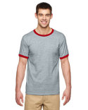 G860 Gildan Adult 5.5 oz. Ringer T-Shirt