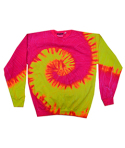 H8150 Tie-Dye Adult 8.5 oz., 80/20 crew neck fleece