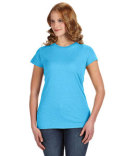 JA8138 J America Ladies Glitter T-Shirt
