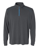 JA8186 J America Adult Shadow Mesh 1/4 Zip