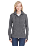 JA8431 J America Ladies' Omega Stretch Snap-Placket Hood