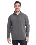 JA8434 J America Adult Omega Stretch Quarter-Zip