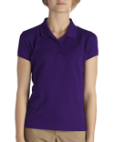 KS952 Dickies Girls' Short-Sleeve Performance Polo