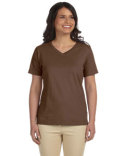 L-3587 LAT Ladies' V-Neck Premium Jersey T-Shirt