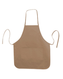 LB5505 Liberty Bags Heather NL2R Long Round Bottom Cotton Twill Apron