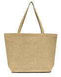 LB8507 Liberty Bags Seaside Cotton 12 oz. Pigment-Dyed Large Tote